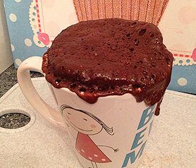 cake in a mug recipe - cake in a mug recipe