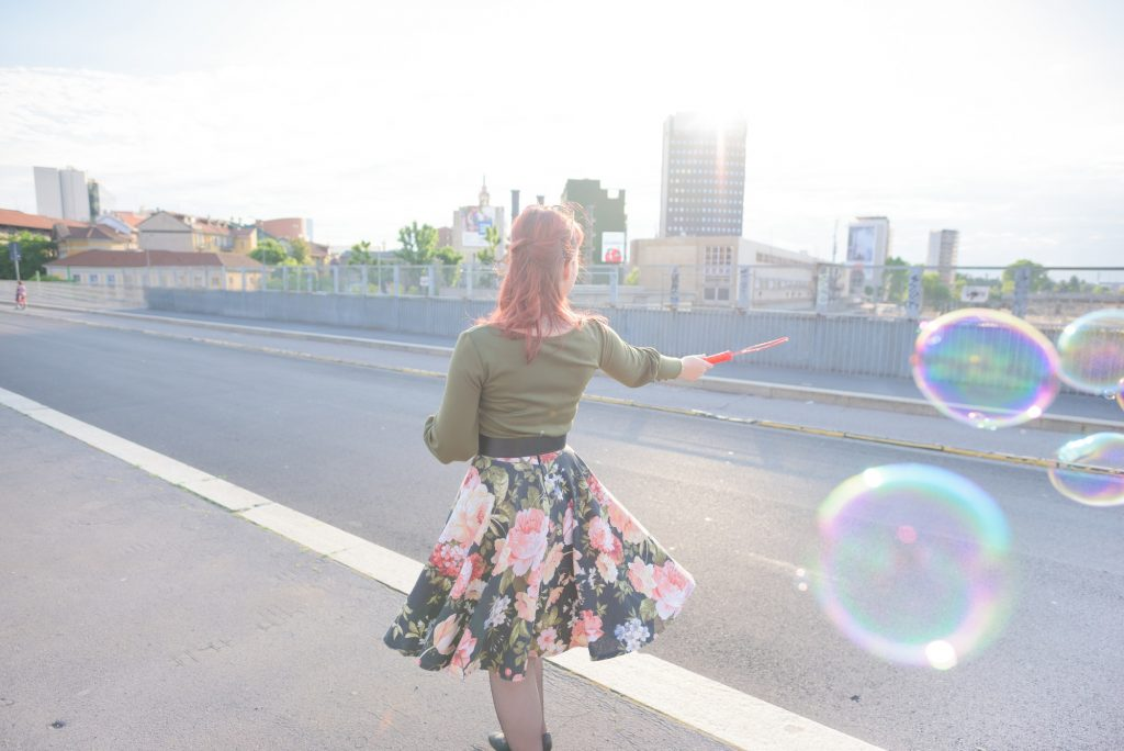young handsome redhead woman playing with bubble 1024x684 - Work With Me