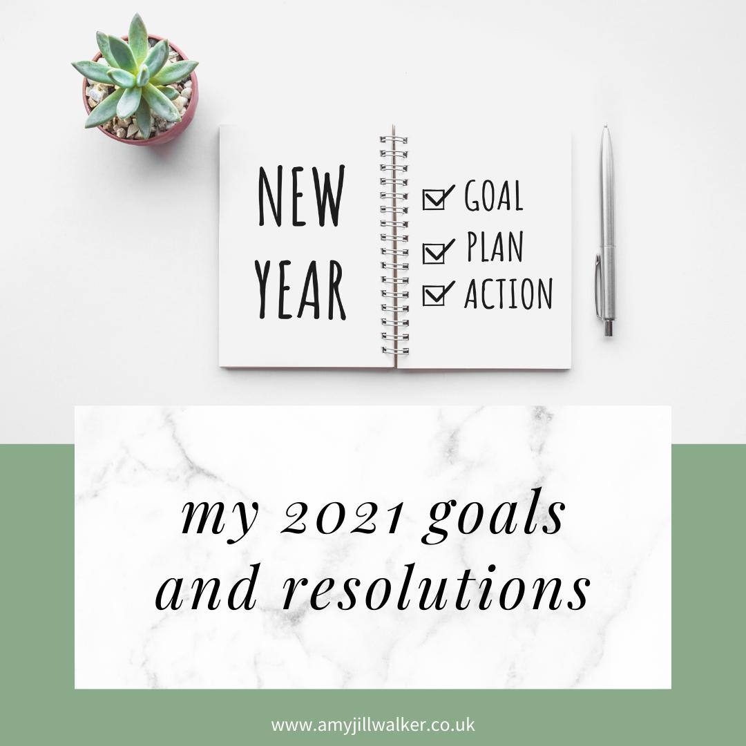 my2021goals - My 2021 Goals